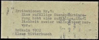 Ritterbusch Titel