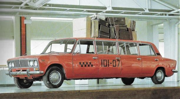 Ordo Amoris Taxi-Limousine 1988 aus 3 Ladas